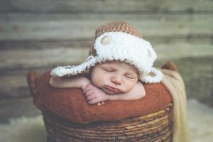 Bébé bonnet aviateur