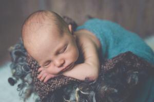 Bébé paisible