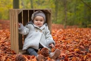 Photo bébé dans une caisse