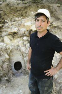 Rémi Martineau, responsable des fouilles