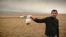 Collecte de sols en Afrique du Sud en compagnie d'Arnault de Lange
