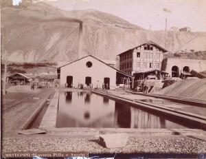 Mine à Iglesias (Vottorio Besso, 1887)