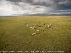 Kourgane dans la vallée de Salbyk, Rep. de Khakassie)