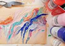 how to make fabric paint with acrylic paint
