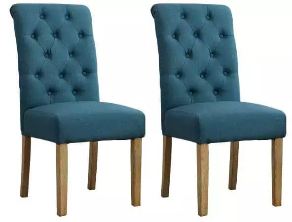 Fabric kitchen chair