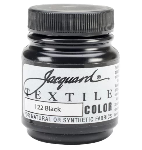 Jacquard textile color paint
