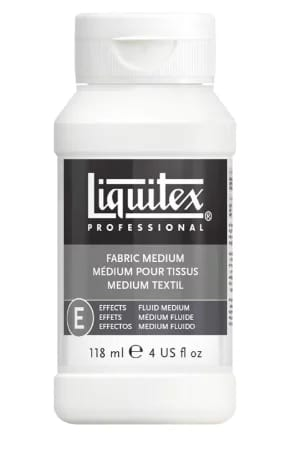 Liquitex, professional fabric effects medium