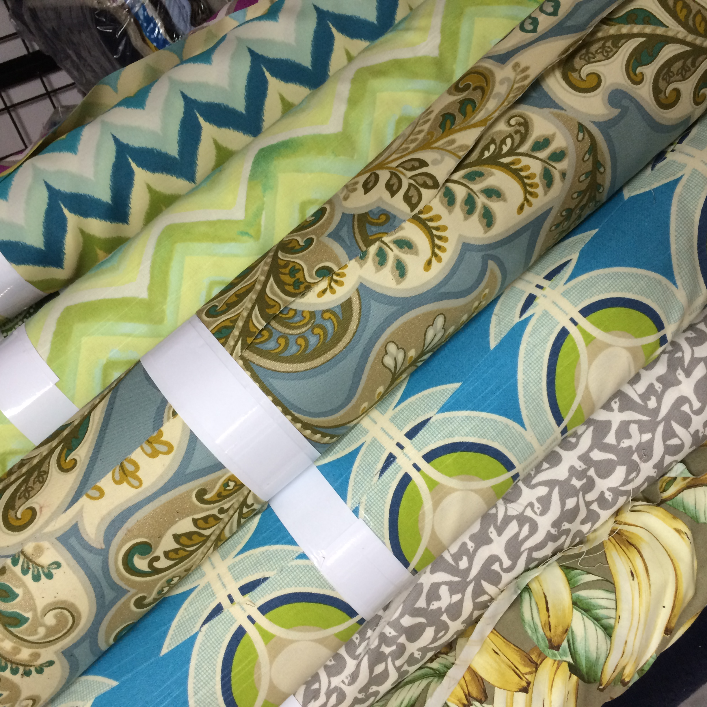 New Upholstery Prints Fabric Outlet Sf