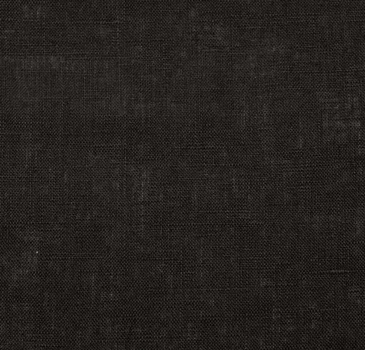 100 Linen Black Fabric