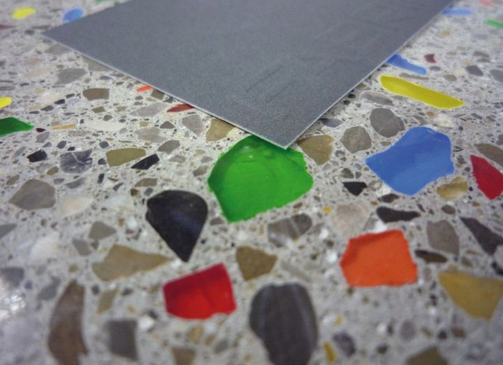 2FABRINO Glasgranulate Designestrich Musterfläche1