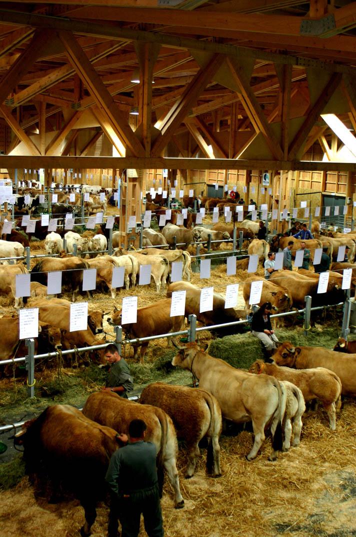 Halle Agricole Aumont Aubrac 48 FABRIQUES