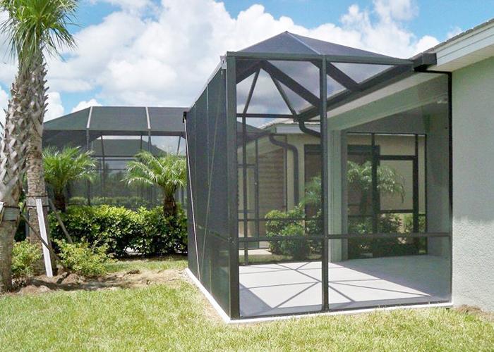 florida pool enclosures rescreening