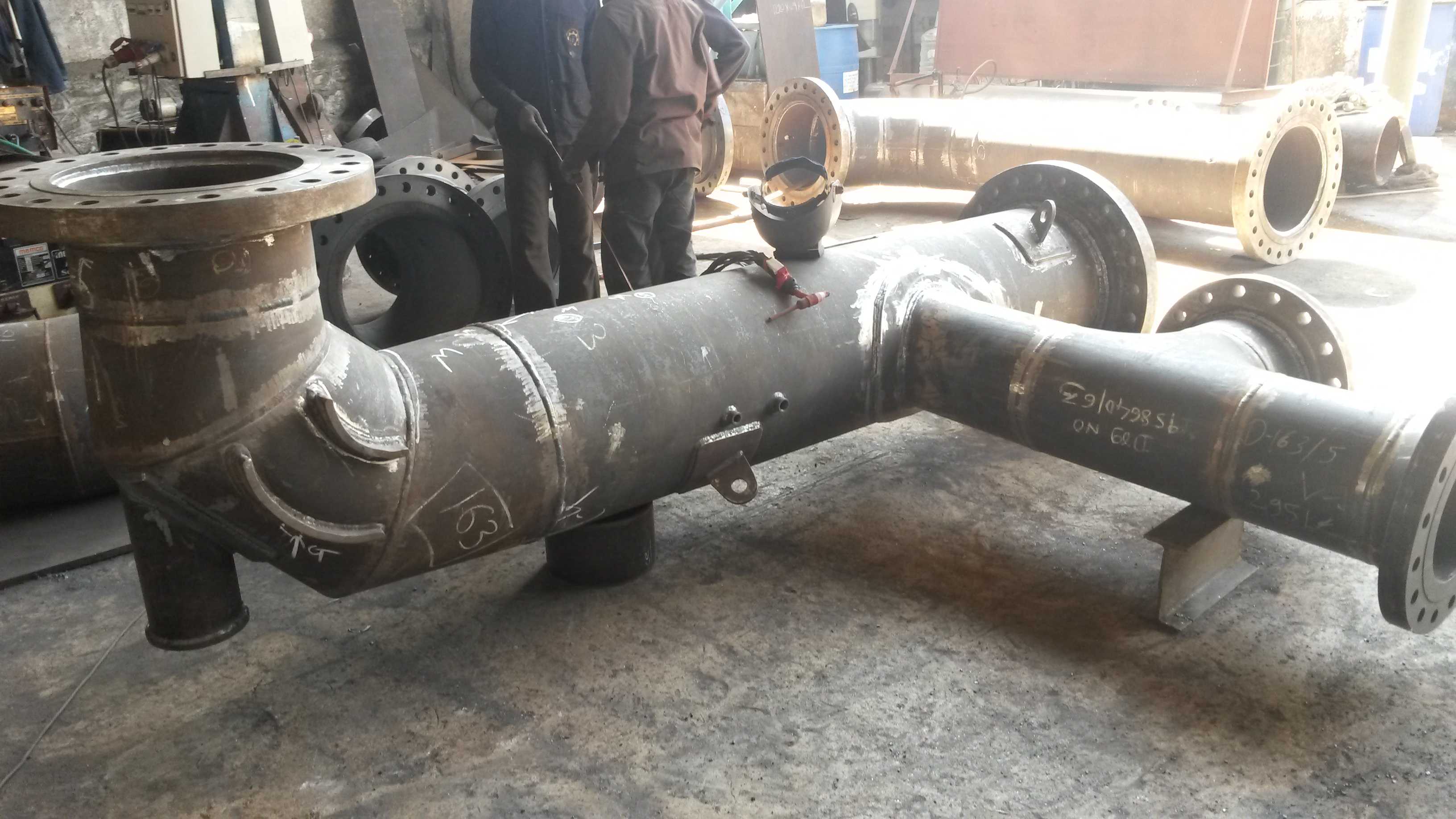 Process Pipe Fabrications | FEPL
