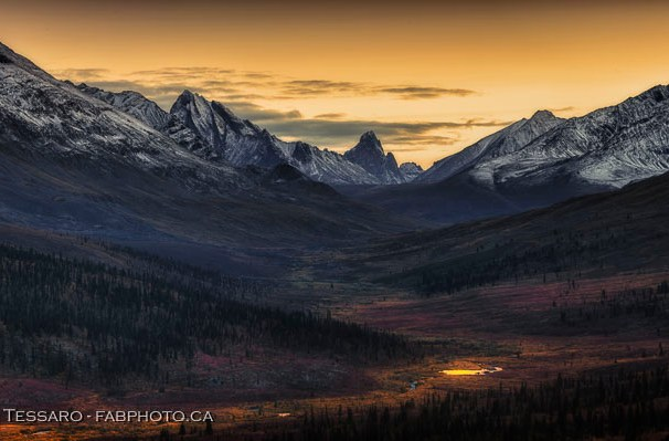 Tombstone Territorial Park, Yukon Territories, Canada, Talus Lake, Grizzly Lake, Divide Lake,Yukon Fall Colours, colors