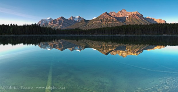 Banff National Park, Alberta Canada, HERBERT LAKE