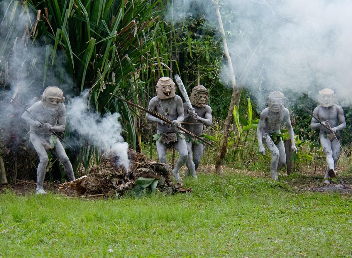 Papua Nuova Guinea, i Mudman