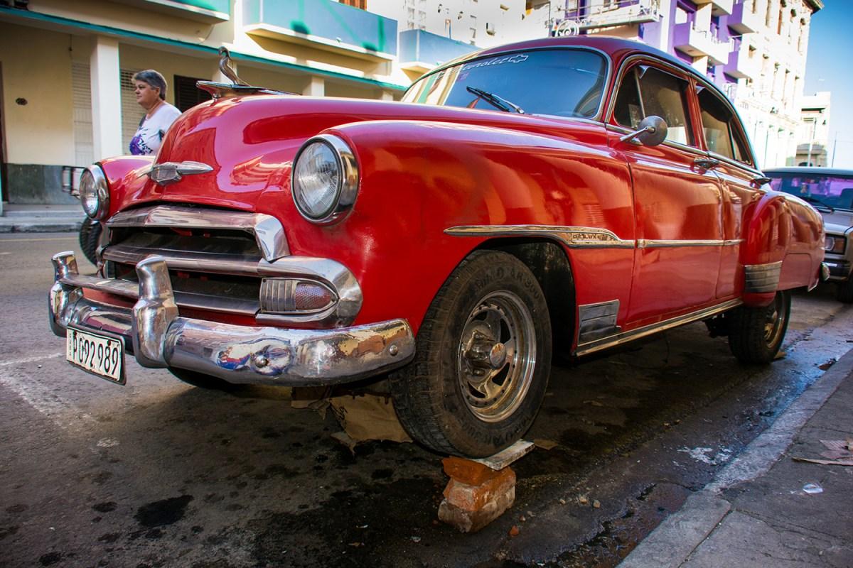 Cuba, le auto dell'Avana