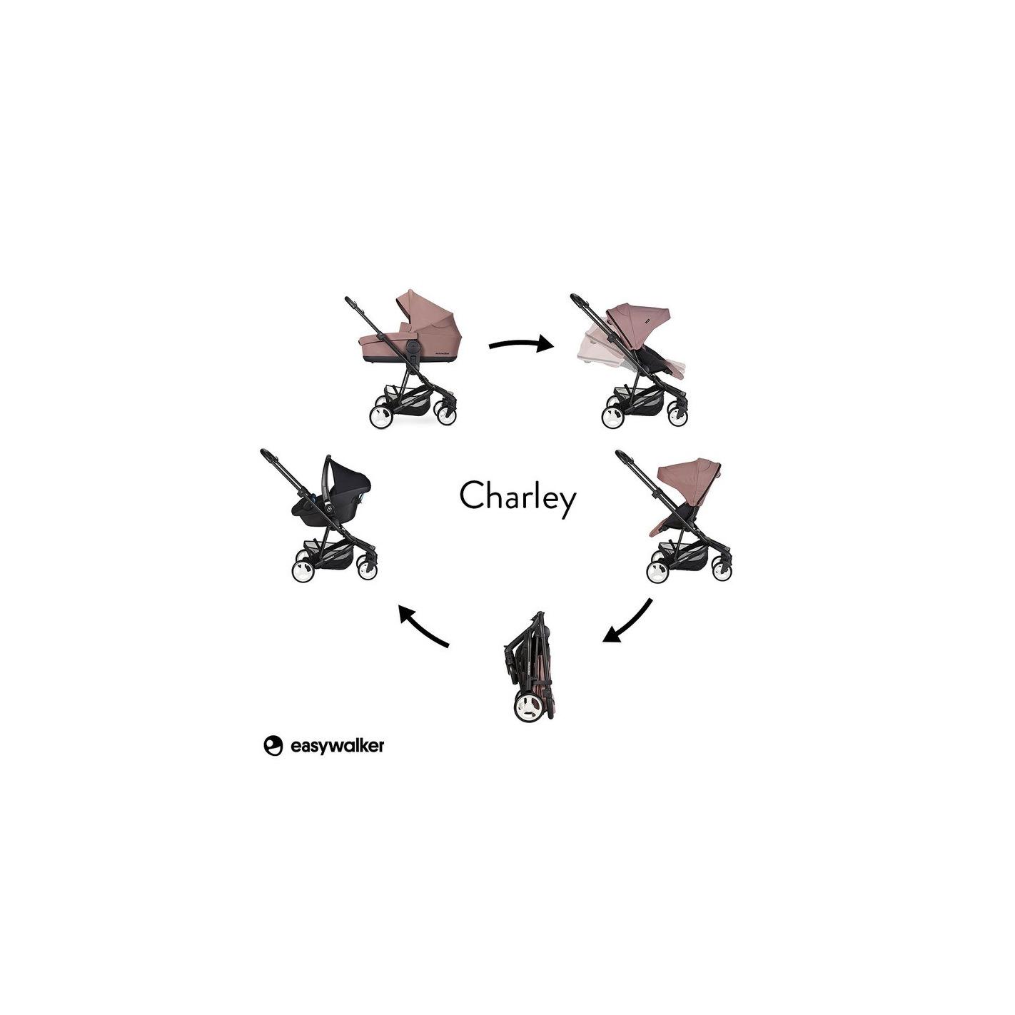 Easywalker Charley Wozek G Boko Spacerowy Desert Pink
