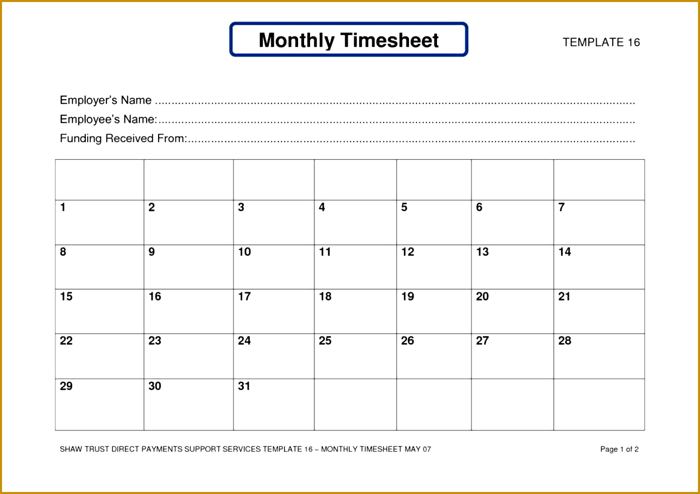 6 Self Employed Balance Sheet Template