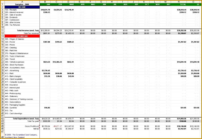5 Xls Accounting Spreadsheet