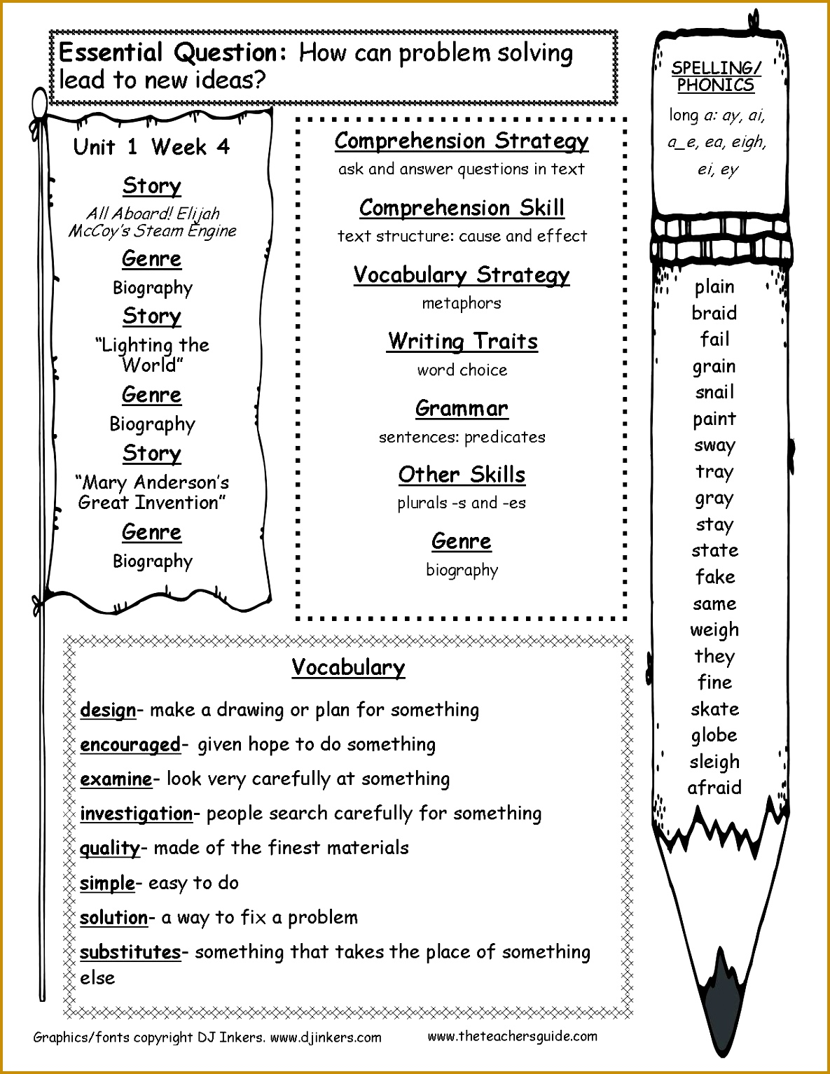 4 9th Grade Reading Comprehension Worksheets