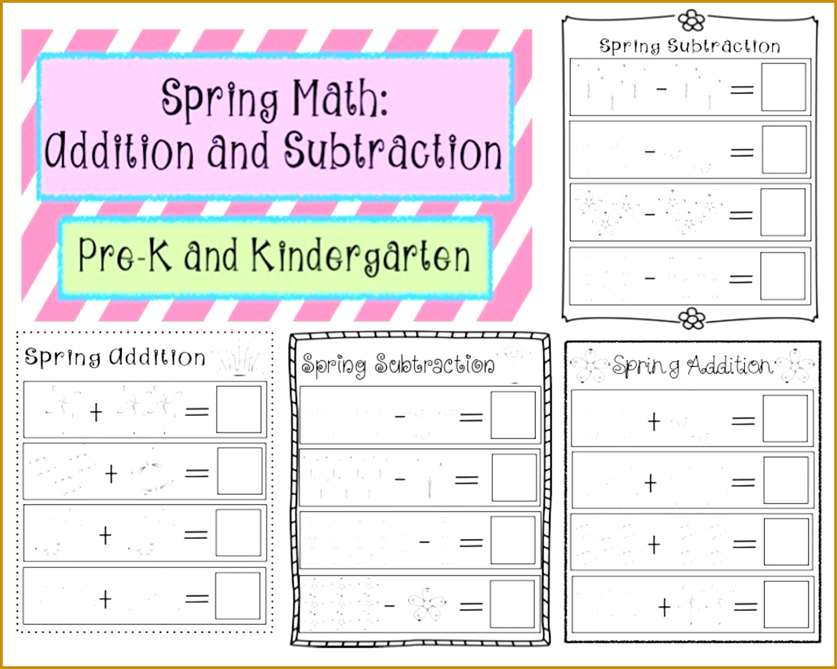 3 Addition And Subtraction Worksheets