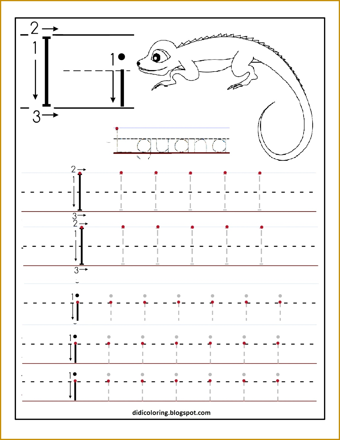 6 Alphabet Tracing Worksheets