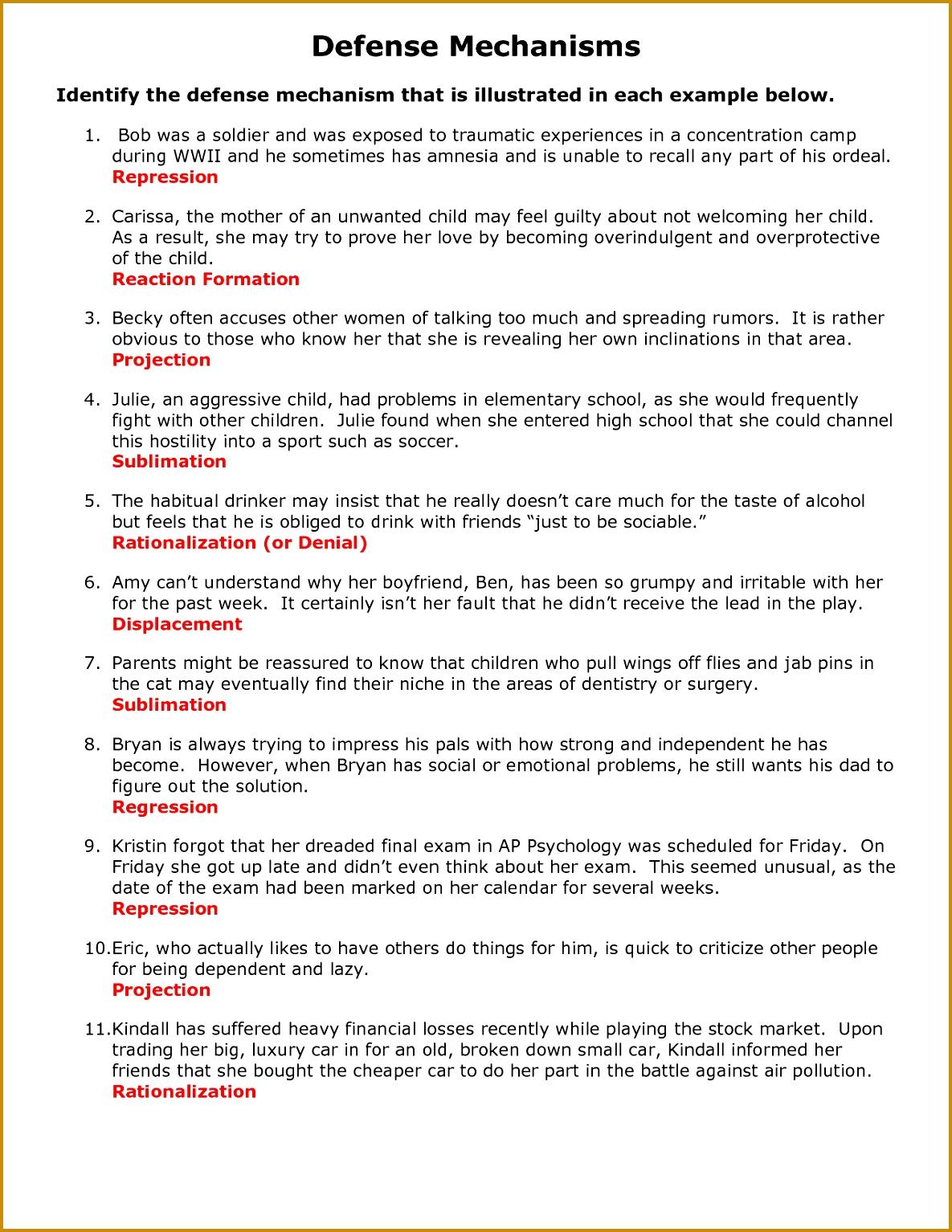6 Anger Management Worksheets