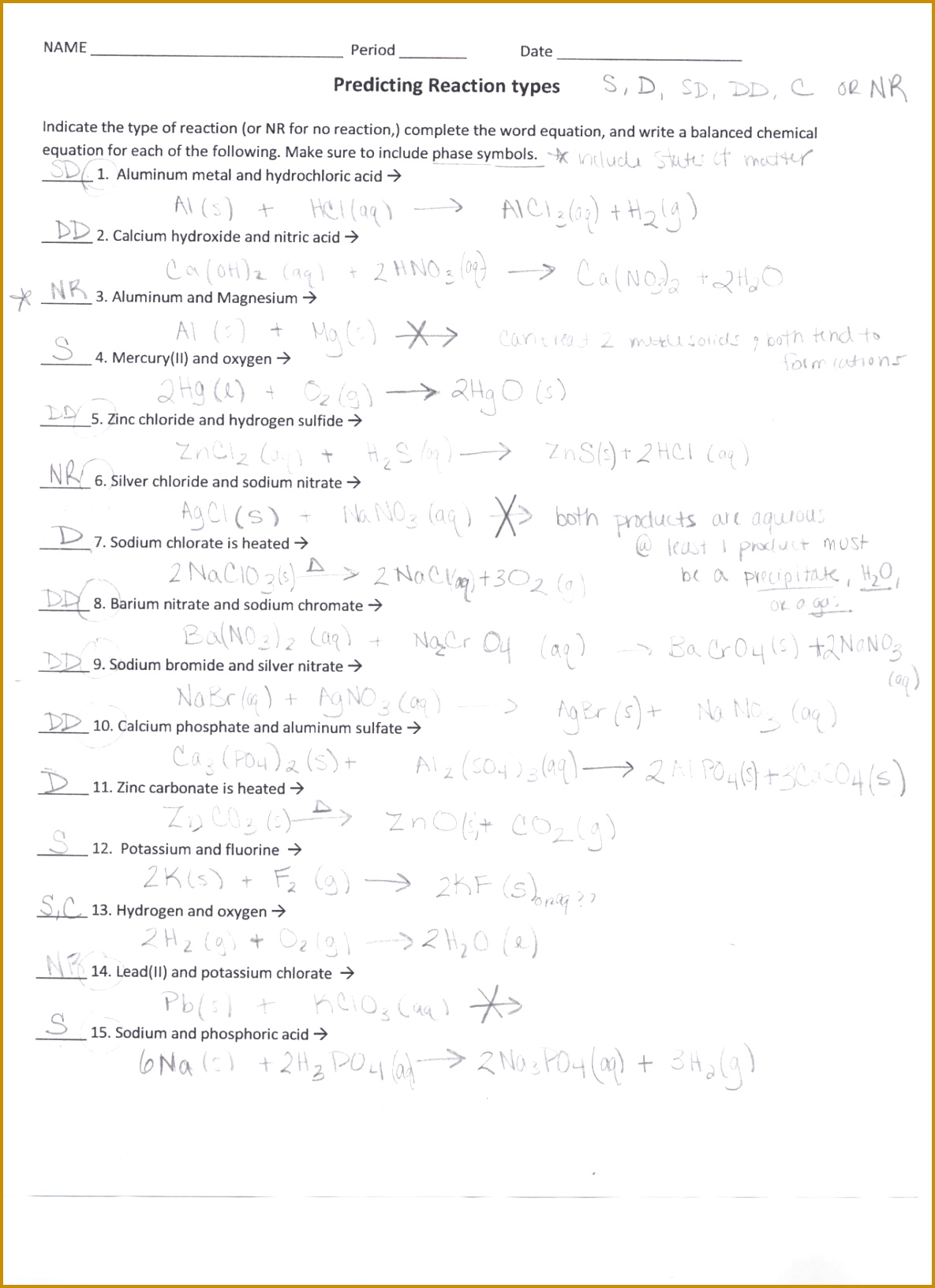 5 Balancing Nuclear Reactions Worksheet