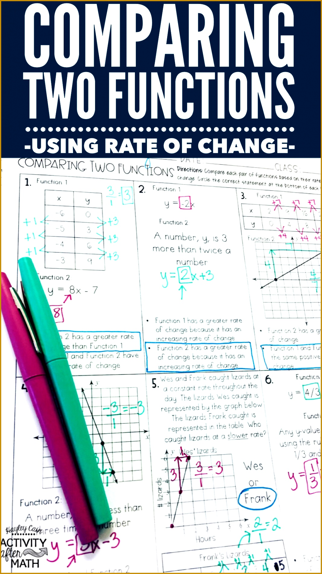 5 Domain And Range Worksheet