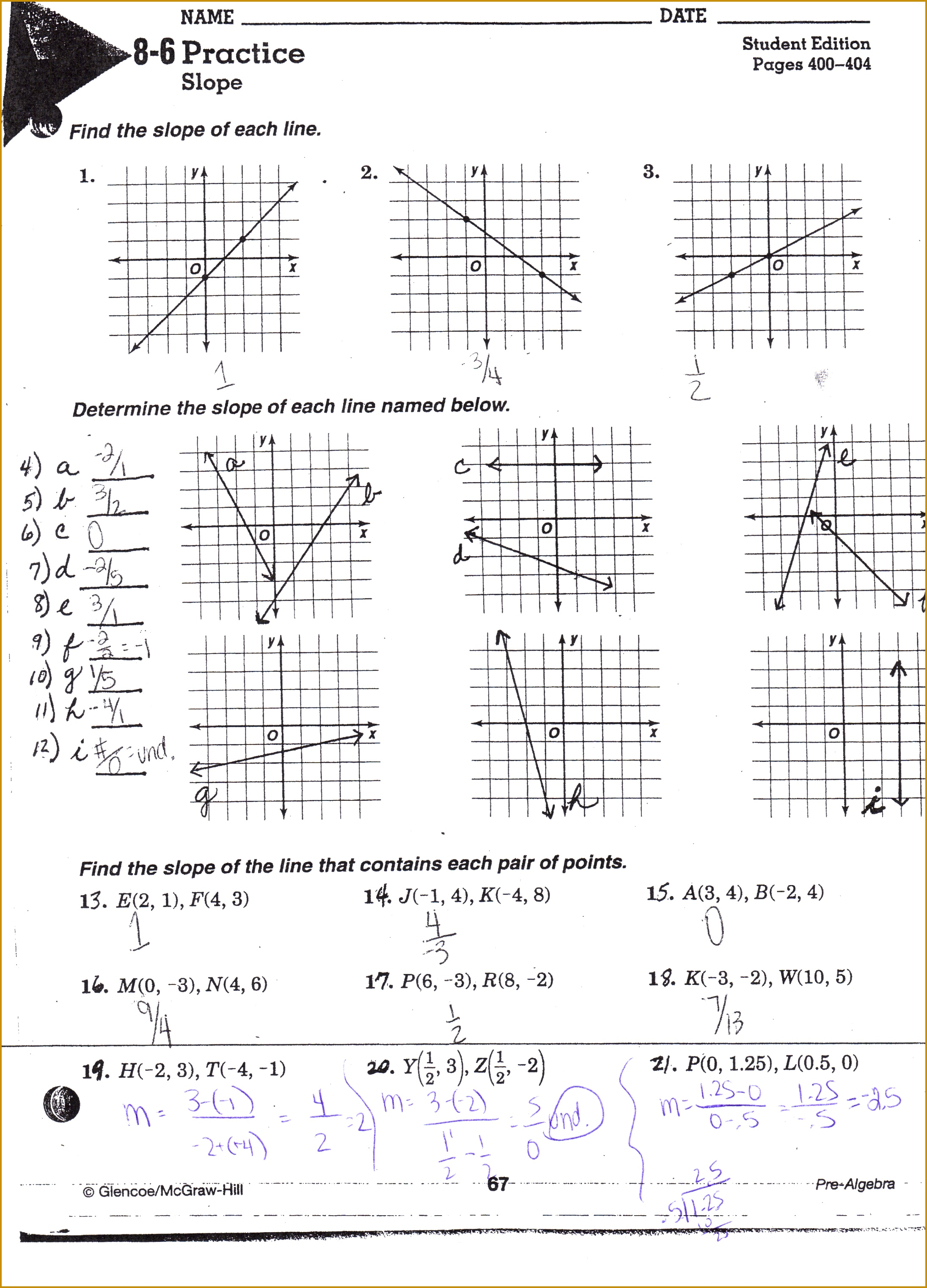 4 Domain And Range Worksheet Algebra 1