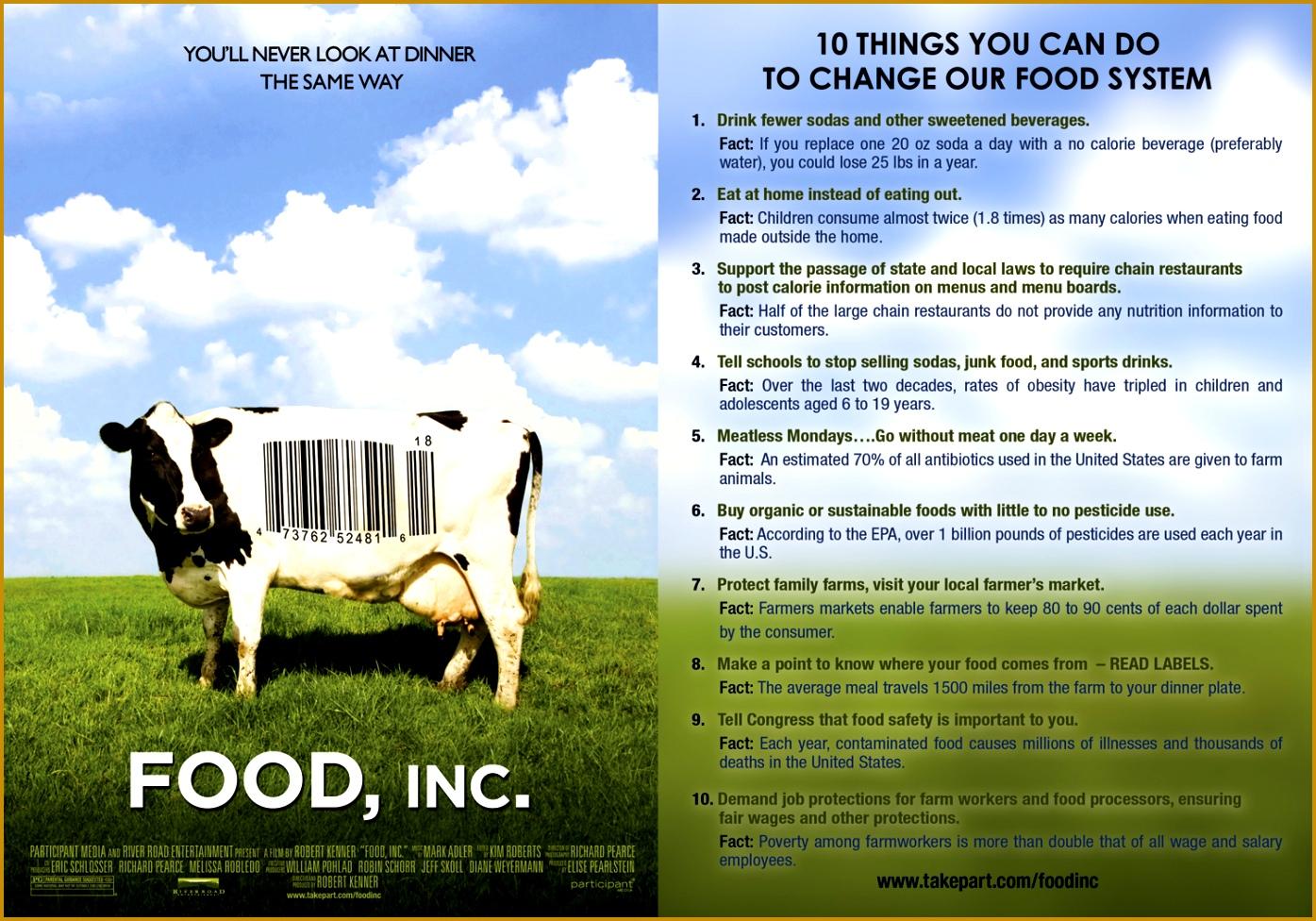 7 Food Inc Movie Worksheet Answers
