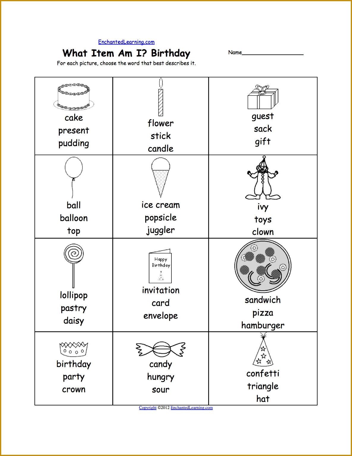 7 Free Printable Grammar Worksheets