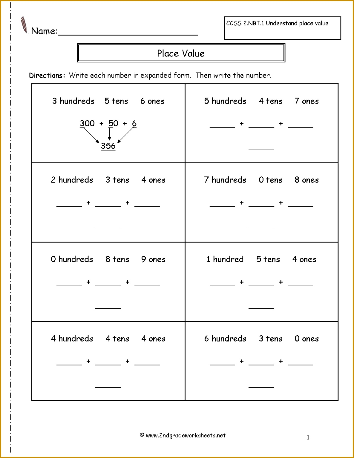 Factor Rules Worksheet