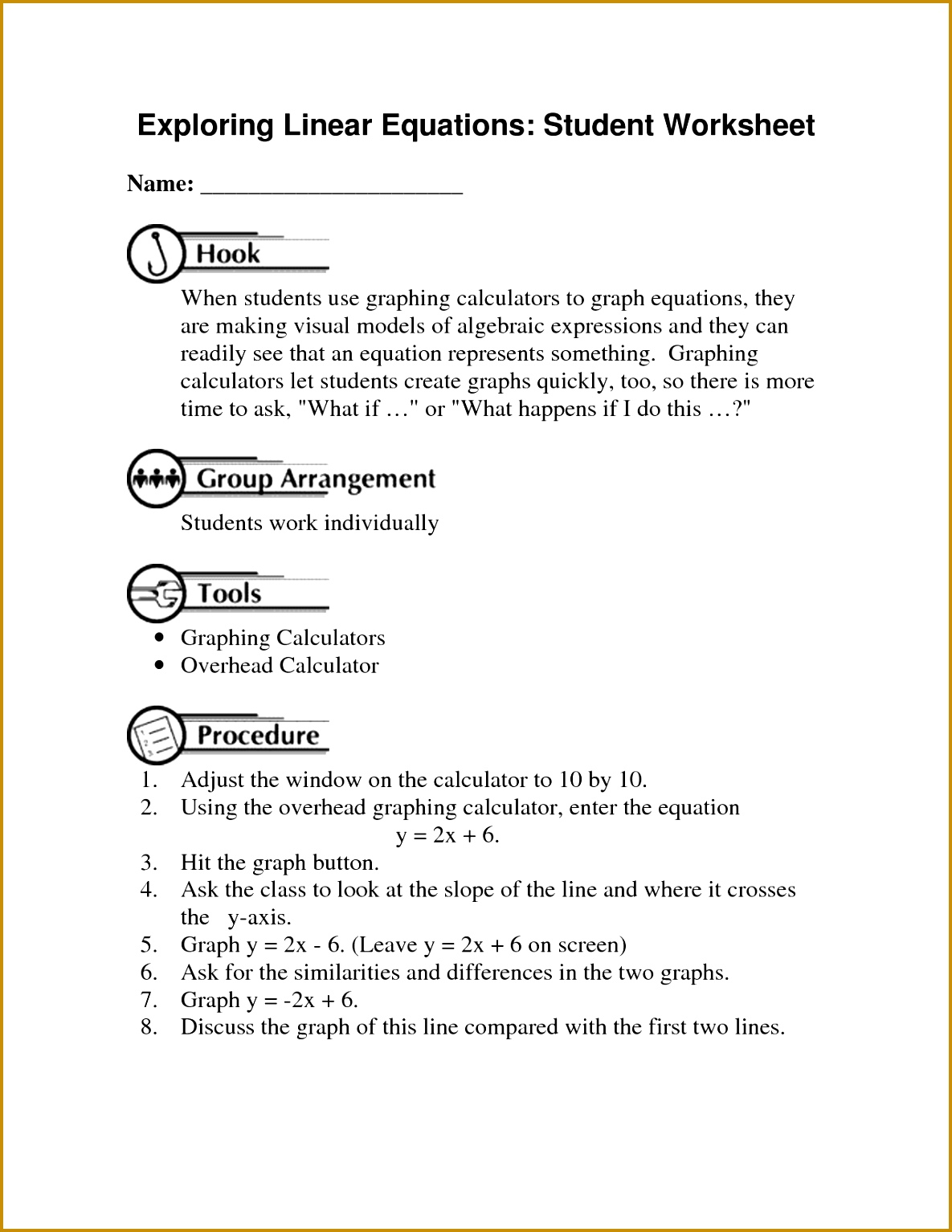 4 Is It A Function Worksheet