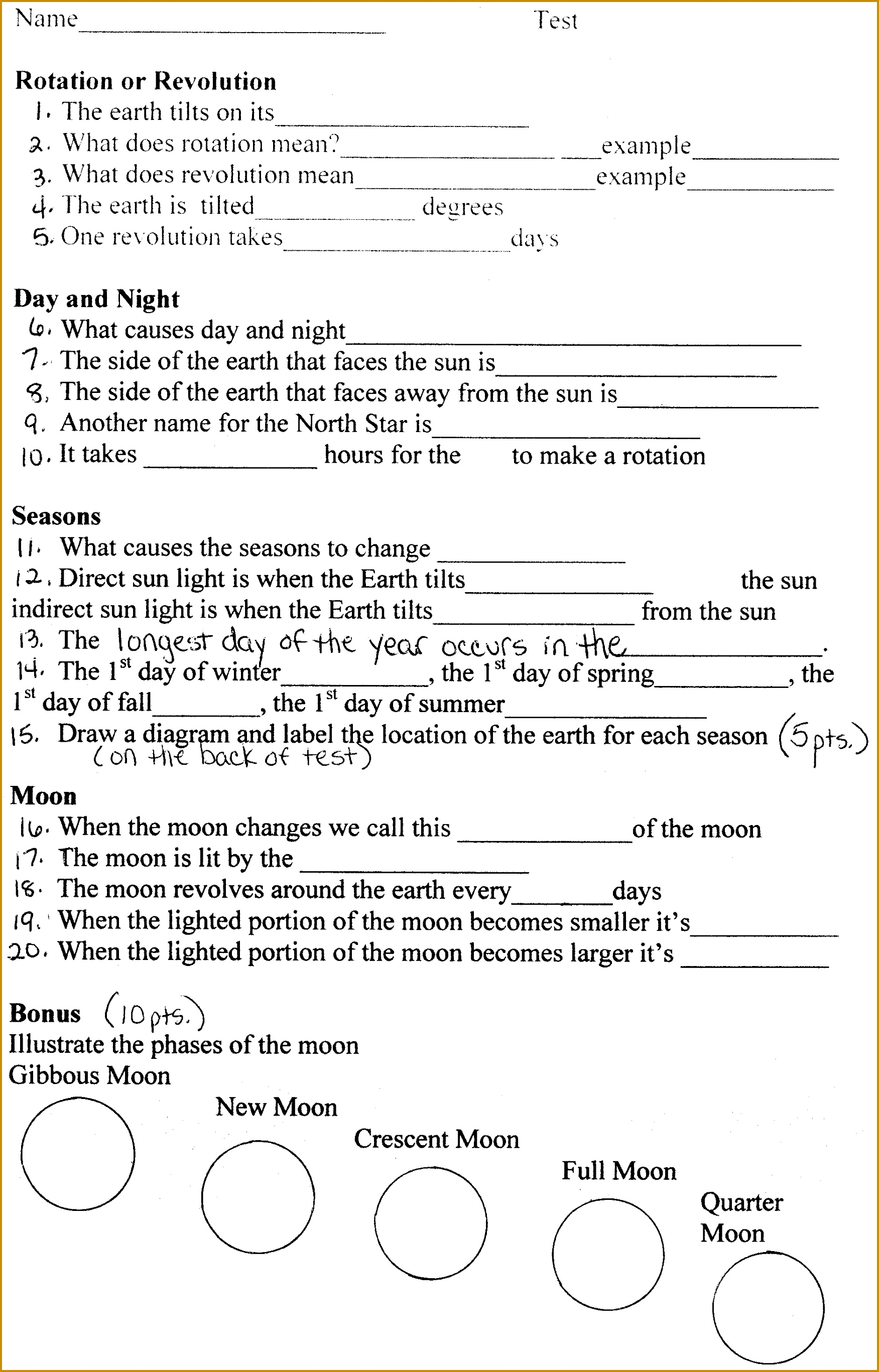 3 Latitude And Longitude Worksheets