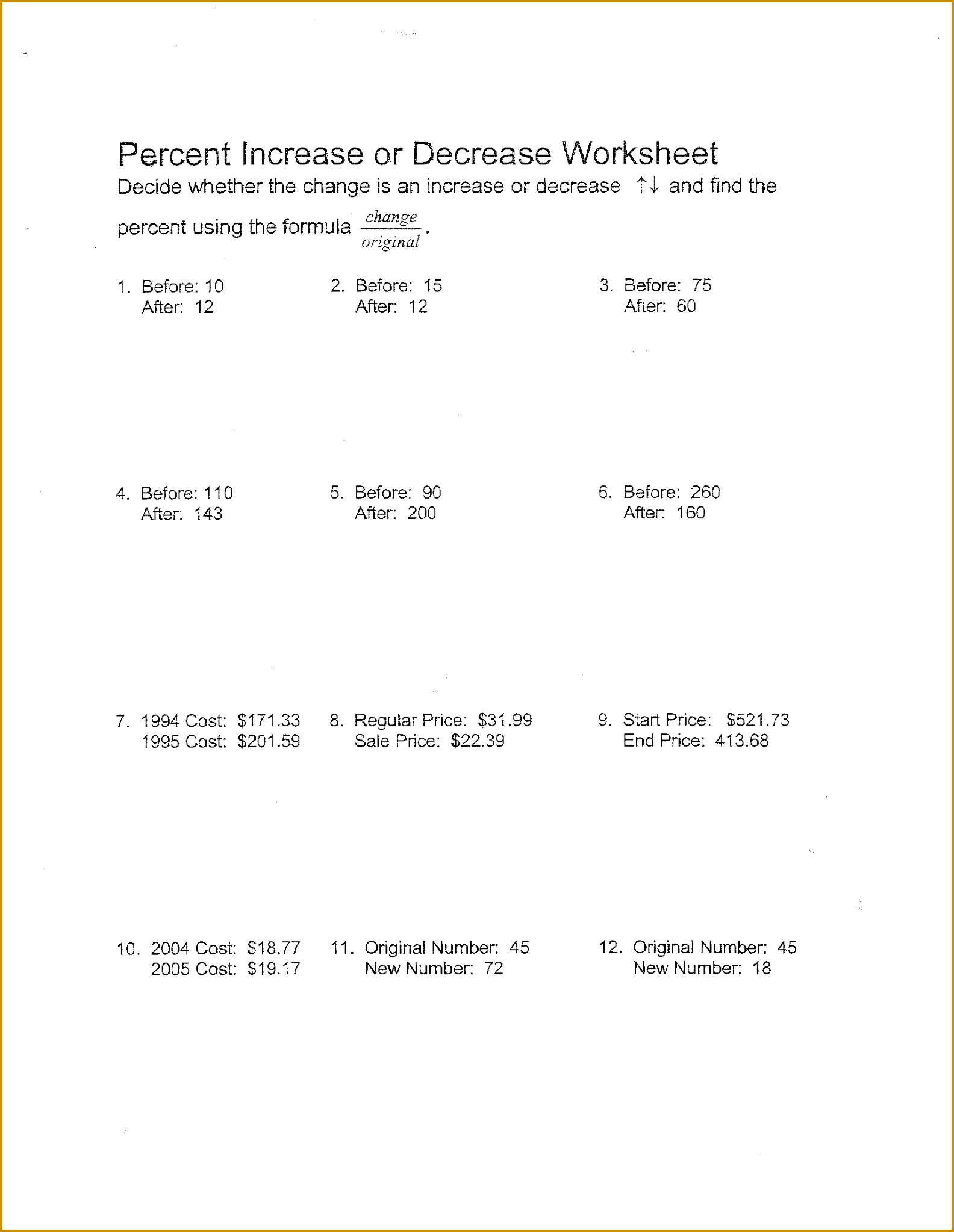5 Matter And Change Worksheet Answers
