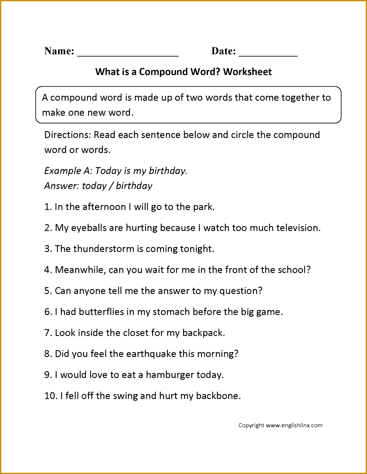 3 Multiple Meaning Words Worksheets