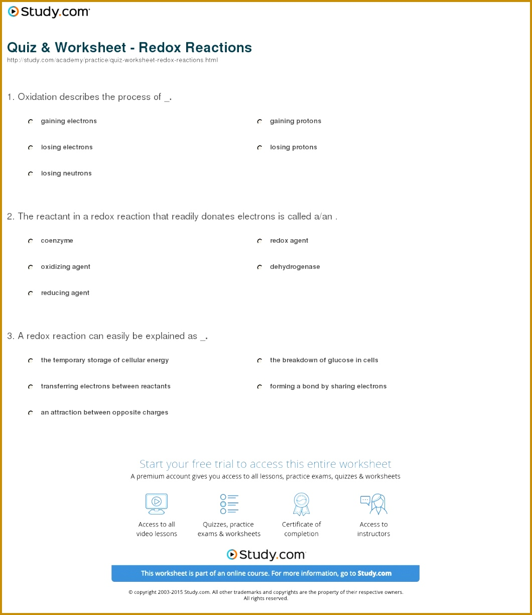 6 Oxidation Numbers Worksheet Answers