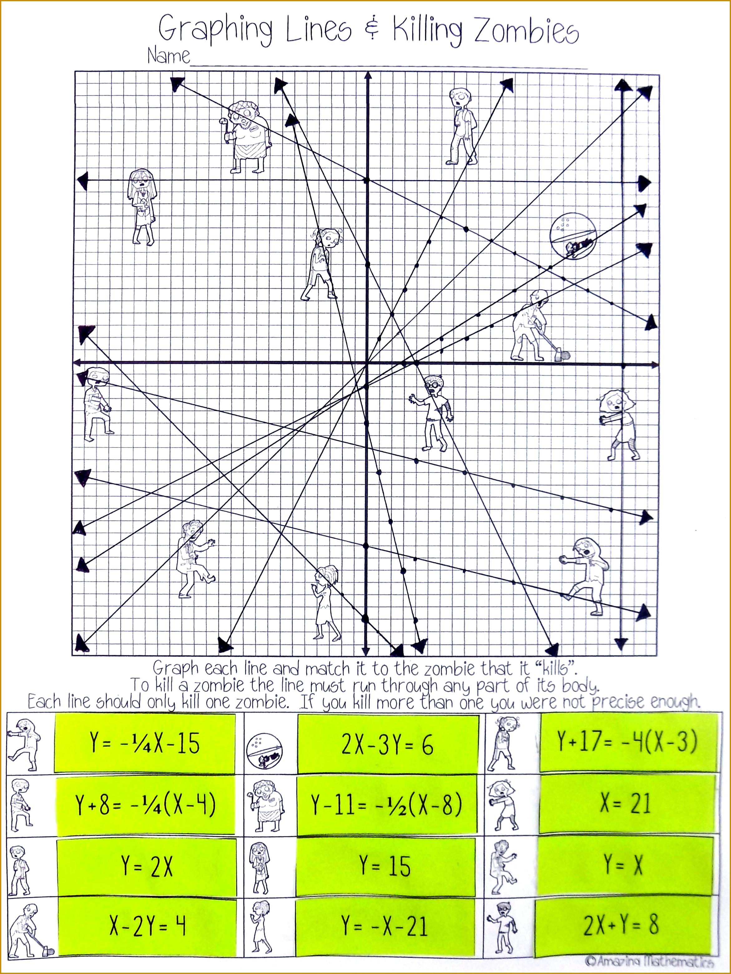 5 Slope Intercept Form Worksheet