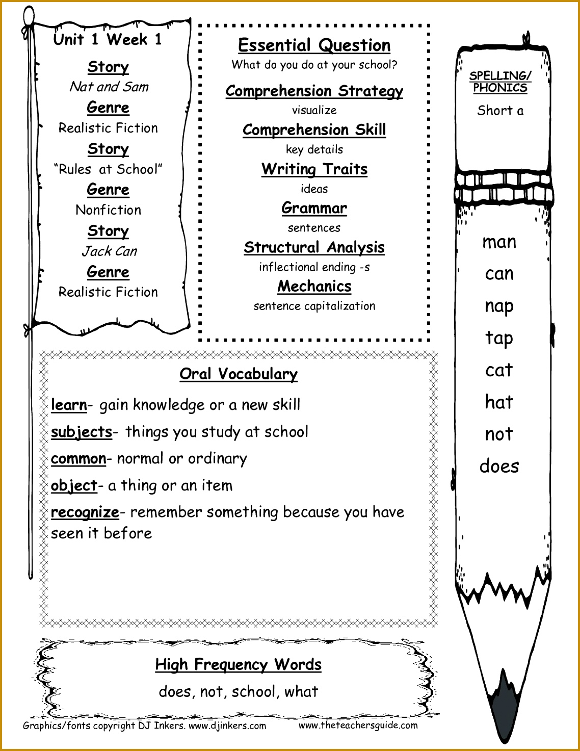 5 Third Grade Math Worksheets