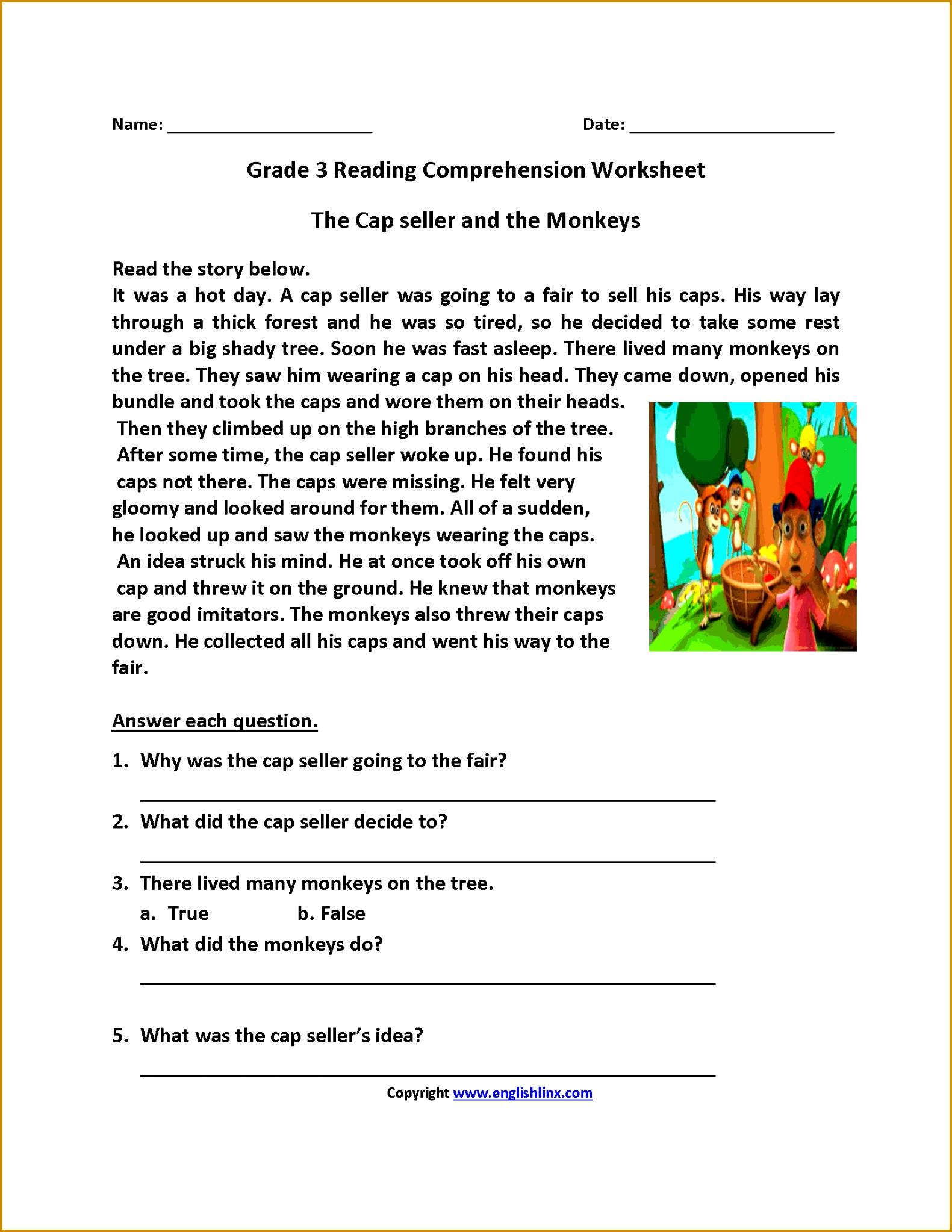 4 Third Grade Worksheets