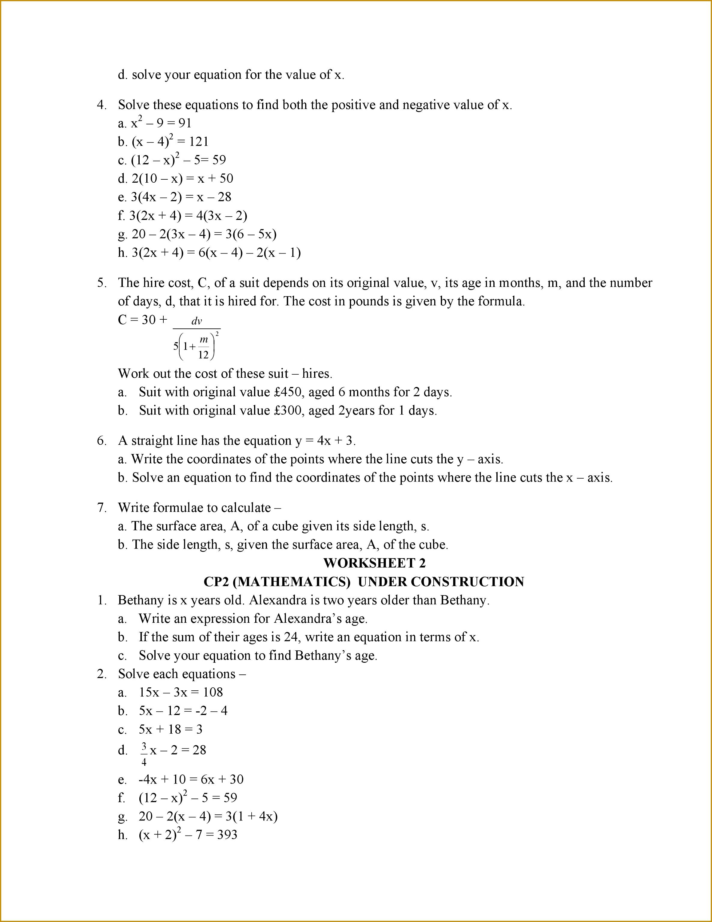 6 Worksheet 7 4 Inverse Functions