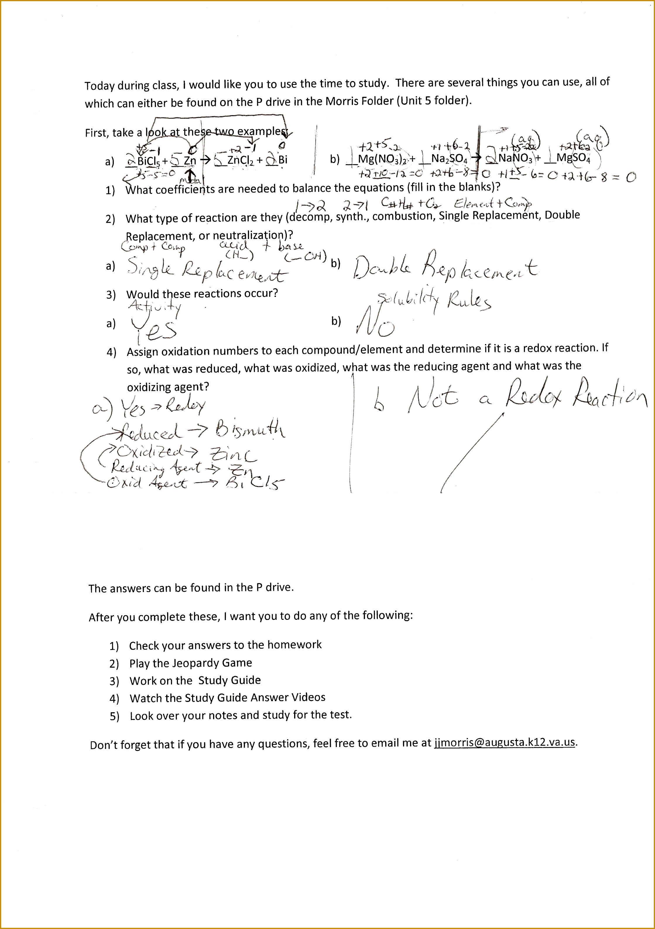 Radioactivity Worksheet Answer Key