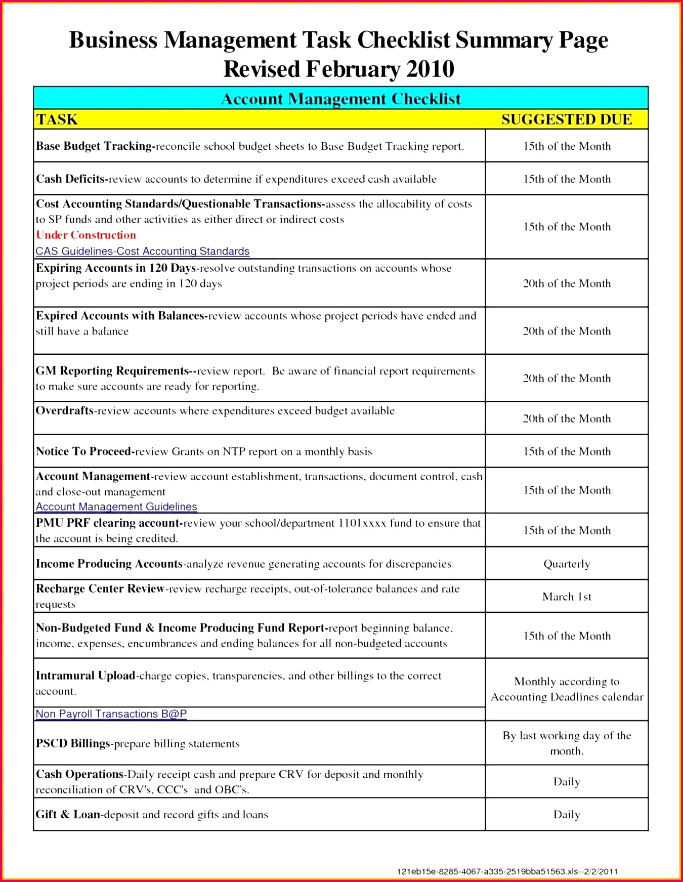 7 Accounting Worksheet Template