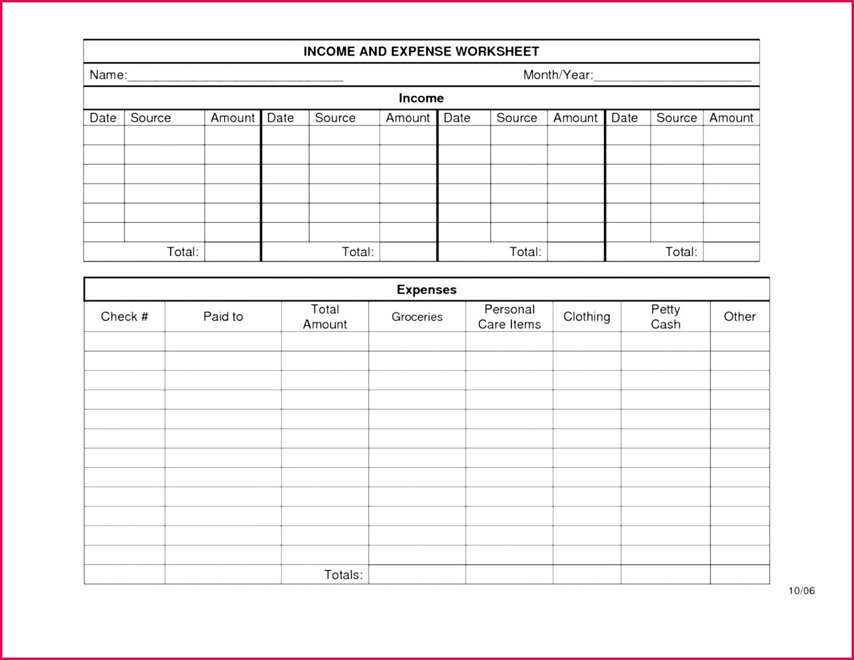 5 Free Excel Tax Worksheet