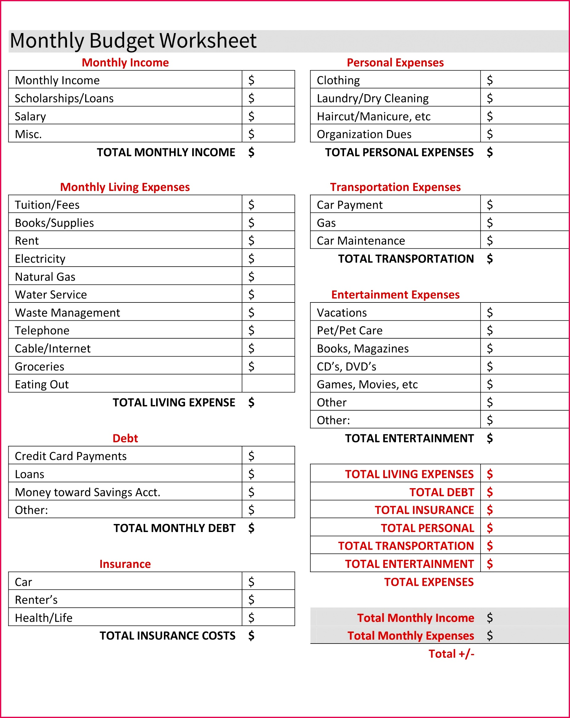 3 Sample Headcount Report In Excel