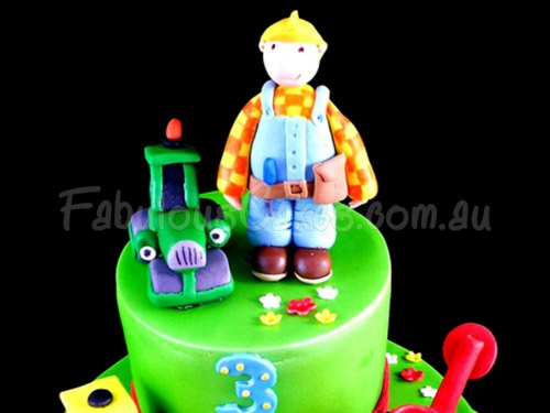 Meet Bob the Builder Birthday Cake