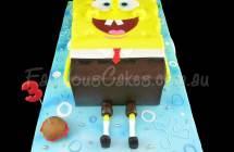 Sponge Bob Square Pant Cakes