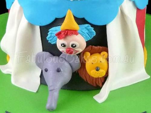 Animal Kids Cake
